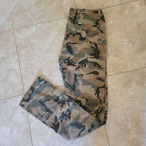 Levi's camo print khakis